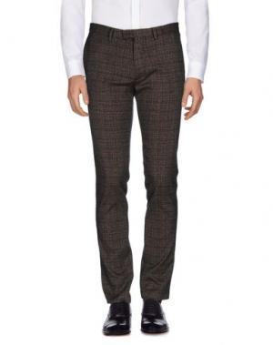 Повседневные брюки JEY COLE MAN. Цвет: свинцово-серый