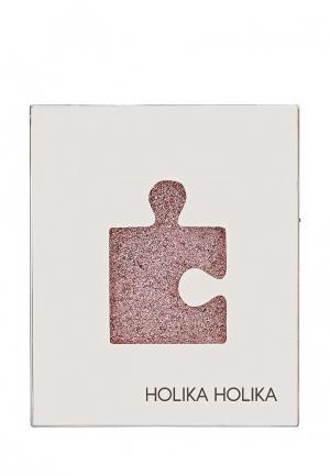 Тени Holika. Цвет: розовый