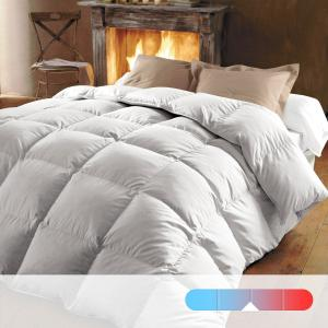 Одеяло натуральное, 320 г/м², 70% пуха, обработка против клещей BEST. Цвет: белый
