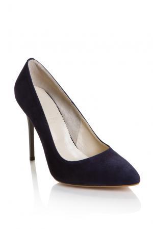 Замшевые туфли 157296 Lolita Shonidi. Цвет: синий