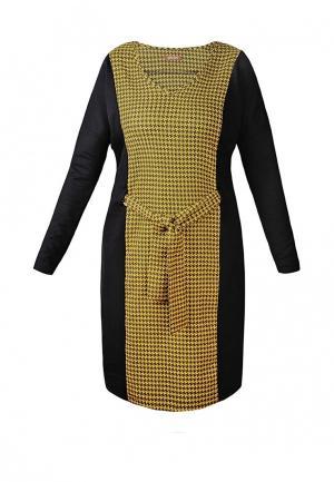 Платье Spicery. Цвет: разноцветный