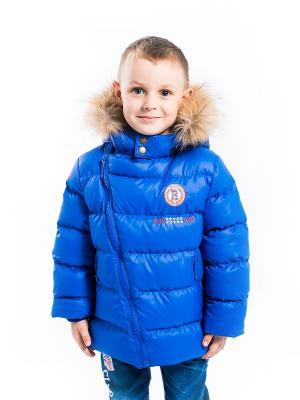Куртка Стас Аксарт. Цвет: синий