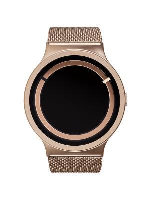 Наручные часы Ziiiro Eclipse Metalic Rose Gold. Цвет: золотистый