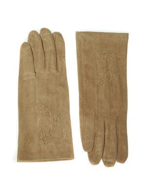 Перчатки Nice Ton. Цвет: темно-бежевый