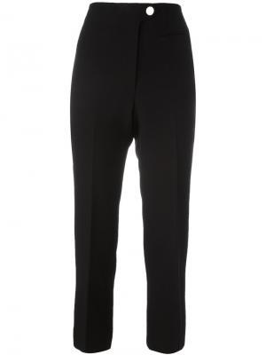 Укороченные брюки Helmut Lang. Цвет: чёрный
