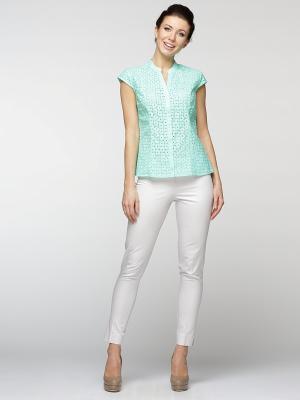 Блузка Maria Velada. Цвет: зеленый