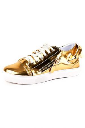 Ботинки Vita Ricca. Цвет: золотой