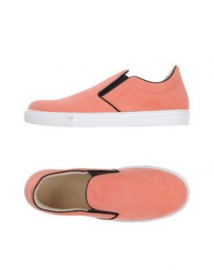 Низкие кеды и кроссовки MR.HARE. Цвет: лососево-розовый