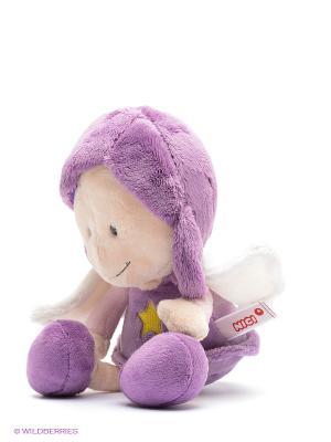 Мягкая игрушка Ангел-хранитель NICI. Цвет: сиреневый