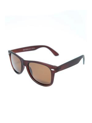 Очки солнцезащитные с поляризацией Mitya Veselkov. Цвет: коричневый