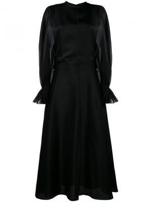 Платье с длинными рукавами Fede Emilia Wickstead. Цвет: чёрный