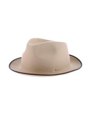 Головной убор SUPER DUPER HATS. Цвет: бежевый