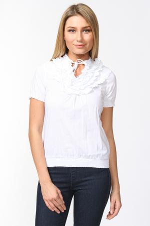 Блуза Fusion. Цвет: белый