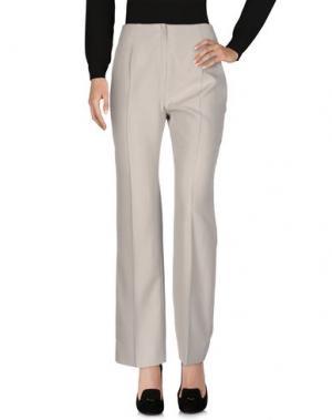 Повседневные брюки FONTANA COUTURE. Цвет: светло-серый