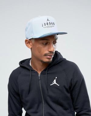 Jordan Синяя бейсболка Nike Modern Heritage 834893-401. Цвет: синий