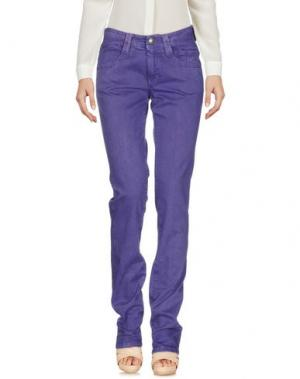 Повседневные брюки CARLO CHIONNA. Цвет: розовато-лиловый