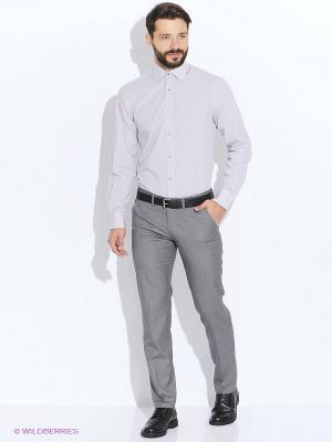 Рубашка LAVISHY. Цвет: бежевый