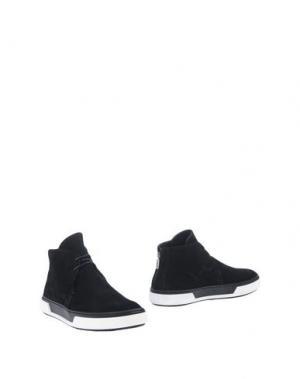 Полусапоги и высокие ботинки ALEJANDRO INGELMO. Цвет: черный