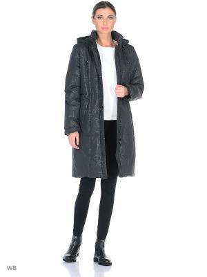 Пальто ORVOKKI Maritta. Цвет: антрацитовый