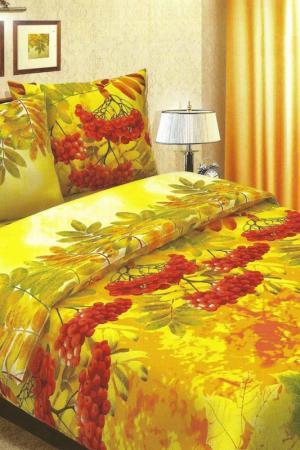 Постельное белье 1,5 сп. 70х70 BegAl. Цвет: желтый, красный, зеленый