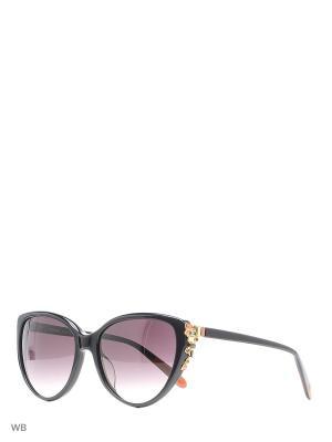 Солнцезащитные очки MI 831S 01 Missoni. Цвет: черный