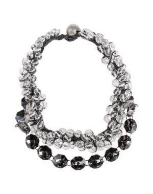 Ожерелье MARIA CALDERARA. Цвет: свинцово-серый