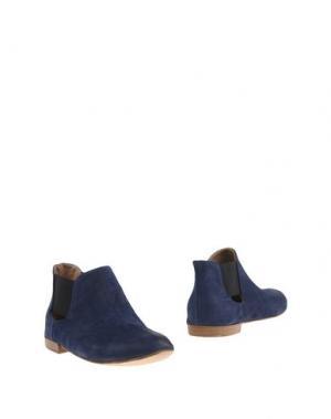 Полусапоги и высокие ботинки KUDETÀ. Цвет: темно-синий