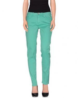 Повседневные брюки 22 MAGGIO by MARIA GRAZIA SEVERI. Цвет: зеленый