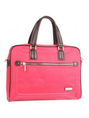 Папки-сумки Pola. Цвет: розовый