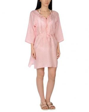 Пляжное платье DELFINA. Цвет: красный