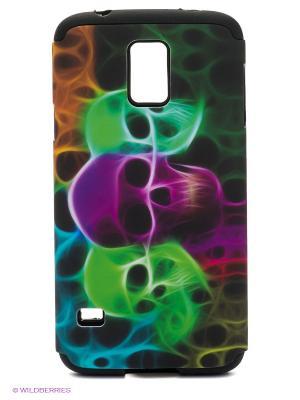 Чехол для Samsung S5 WB. Цвет: зеленый, фиолетовый, черный