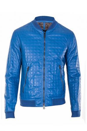 Куртка Drome. Цвет: голубой