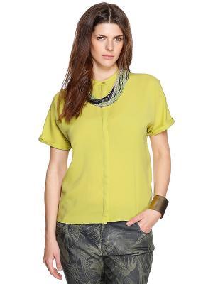 Блузка S.OLIVER. Цвет: светло-зеленый