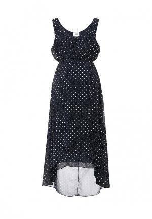 Платье Mamalicious. Цвет: синий