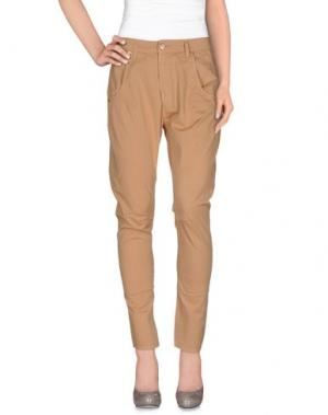 Повседневные брюки DORALICE. Цвет: верблюжий