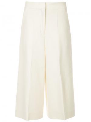 Широкие брюки Cyclas. Цвет: телесный