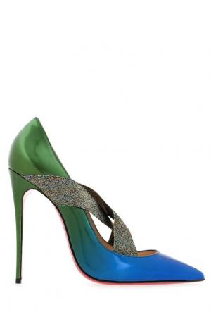 Туфли из лакированной кожи Sharpstagram 120 Christian Louboutin. Цвет: none