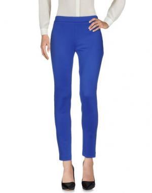 Повседневные брюки HACK. Цвет: синий