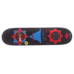 Дека для скейтборда  S5 Puig Gypsy Life Impact Black 31.7 x 8.0 (20.3 см) Cliche. Цвет: черный