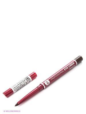 Карандаш для глаз Professional Eye Liner Pencil, тон 6 Bell. Цвет: коричневый