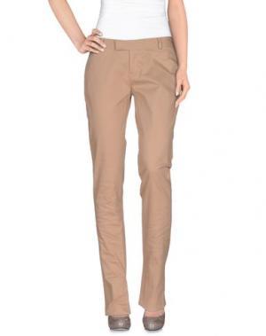 Повседневные брюки PAOLA FRANI. Цвет: песочный