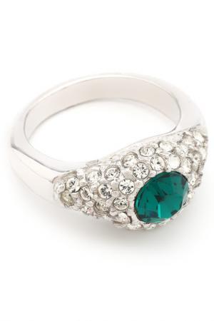 Кольцо Анжелина Crocus-Elite. Цвет: зеленый