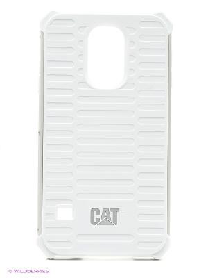 Противоударная защита для Samsung S5 Caterpillar. Цвет: белый