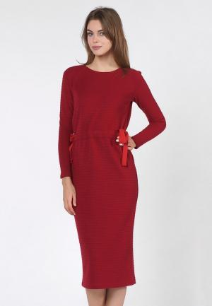 Платье OKS by Oksana Demchenko. Цвет: бордовый