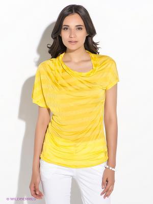 Туника GUESS. Цвет: желтый