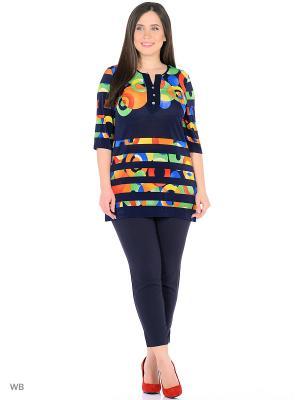 Туника, модель Бразилия Dorothy's Нome. Цвет: зеленый, желтый, оранжевый