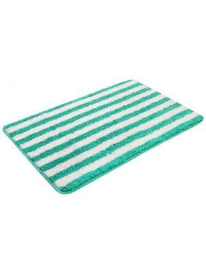 Коврик для ванной 60х100см bm-mf-d5/2-3 Cite Marilou. Цвет: белый, зеленый
