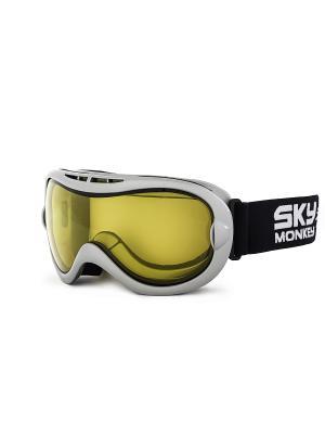 Маска сноубордическая Sky Monkey SR21 YL. Цвет: серый, черный