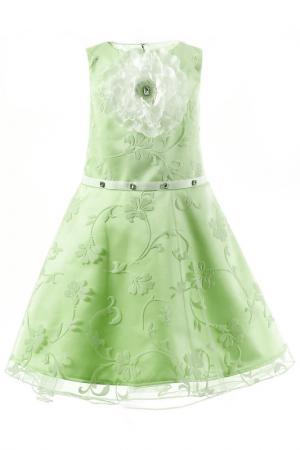 Платье stillini. Цвет: зеленый