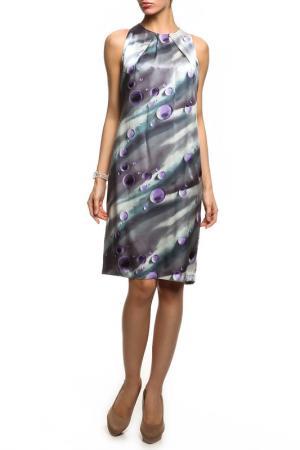 Платье без рукавов Американа NATALIA PICARIELLO. Цвет: серый